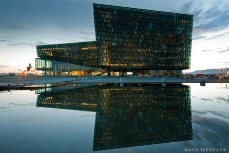 - take a walk into harpa, reykjavik's main concert and performance hall -