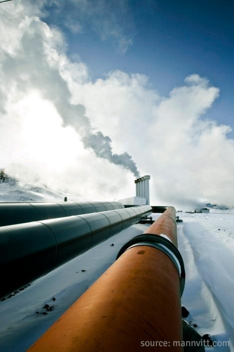 - the hellisheiði power station -