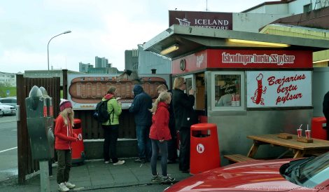 - get your hot dog fix at any of reykjavik's famous bæjarins beztu pylsur hot dog stands -