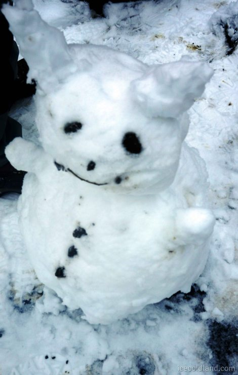 - frosty the snowman...-