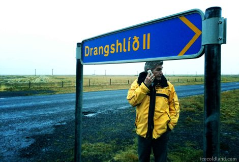 - a candid shot of ratna: iceland's coolest guide as we were heading back to reykjavik -
