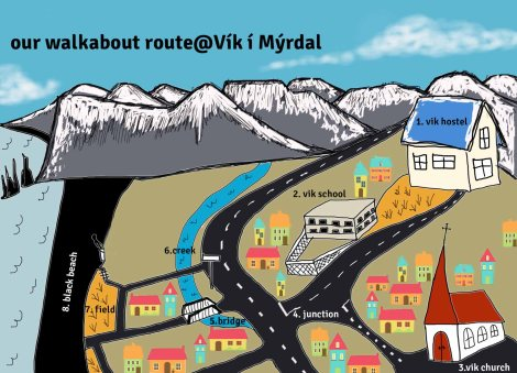 vik route map