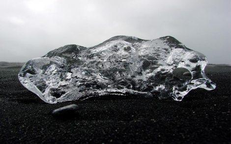 - a majestic iceberg graces the cover of the góða ferð DVD film -