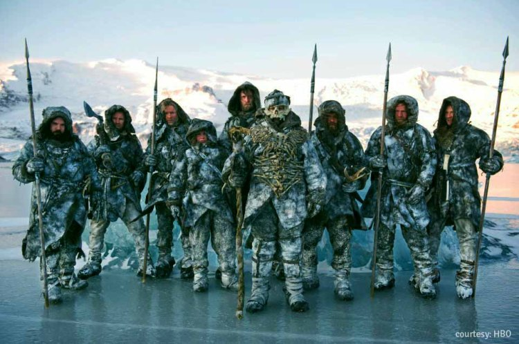 the Wildlings beyond The Wall...